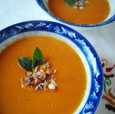 Στην κουζίνα μμμμ..........μου  : Κρεμώδης σούπα με ψημένα καρότα , Thai Red Curry, Ethnic Recipes, Food, Meals, Yemek, Eten