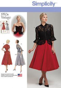 Simplicity 7798 Peut être une bonne base de robe avec bustier ??