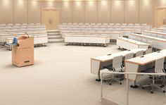 In the Round | Auditorium | Lecture hall | Lecture theater | Design Concept