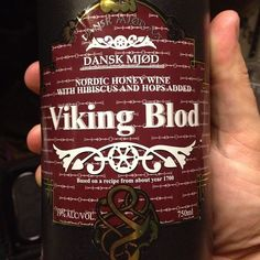 """How to Make Viking Mead   Finished the bottle of """"Viking Blod"""", a hibiscus and hops mead. Good ..."""