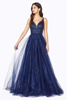 Cute Prom Dresses, Prom Dresses For Sale, Ball Dresses, Pretty Dresses, Beautiful Dresses, Ball Gowns, Formal Dresses, Navy Blue Prom Dresses, Long Elegant Dresses