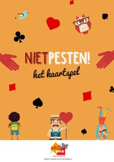 The NietPesten card game - Here you will find the only way there is bullied . - sociale vaardigheden - New education Class Tools, Class Projects, Teach Like A Champion, Teaching Religion, Classroom Organisation, Anti Bullying, School Psychology, Teacher Hacks, Primary School