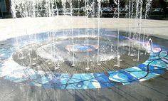Water Feature Designs – Public Fountain