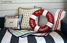Nautical Boy Bedding - www.thelilypadcottage.com