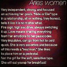 Aries Woman Do It Better
