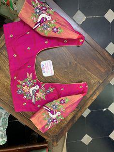 Best Blouse Designs, Dress Neck Designs, Bridal Blouse Designs, Pattu Saree Blouse Designs, Maggam Work Designs, Stylish Blouse Design, Kurti Designs Party Wear, Designer Blouse Patterns, Work Blouse