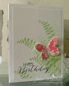Butterfly Basics II by ju012835 - Cards and Paper Crafts at Splitcoaststampers