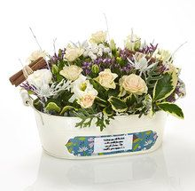 A truly unique way to say... whatever you want to say! Our keepsake troughs make the perfect gift to honour a host of occasions. All you need to do is tell us your special message and we'll add it - for free!
