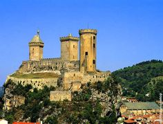Foix - Arège - Midi-Pyrénées Destinations, Sites Touristiques, France, Castles, Mansions, House Styles, Google, Chateaus, Manor Houses