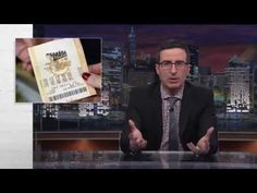 "HBO's John Oliver on State Lotteries and Education. ""When you think about it, it's a little bit strange for the government to basically be in the gambling business,"" Oliver says in the nearly 15-minute segment. (Warning: The show is on HBO, and Oliver uses some four-letter words, though they are bleeped.) http://blogs.edweek.org/edweek/education_and_the_media/2014/11/hbos_john_oliver_on_state_lotteries_and_education.html?cmp=soc-edit-tw"