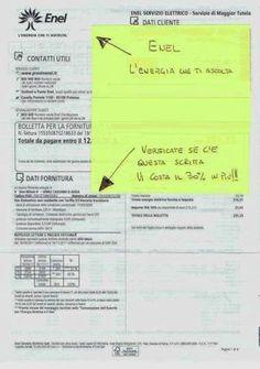 """AVVISO IMPORTANTE – Volete risparmiare soldi sulla vostra bolletta Enel e magari avere anche un rimborso per quello che potreste aver pagato in più in questi anni? Bene, adesso è possibile! Come?Se nella vostra bolletta della luce ENEL avete la dicitura """"Uso domestico non residente con Tariffa D3bioraria transitoria"""" significa che state pagandoil 30% in … … Continua a leggere →"""