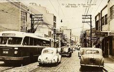 Rua Augusta (inicio dos anos 60?)