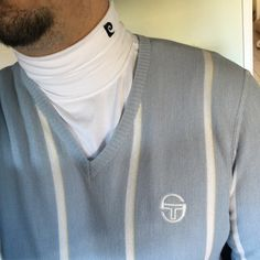 Vintage Sergio Tacchini and Piere Cardin roll neck Vintage Tennis, Ellesse, Polo Neck, Jumpers, Lacoste, Adidas, Guys, Casual, How To Wear