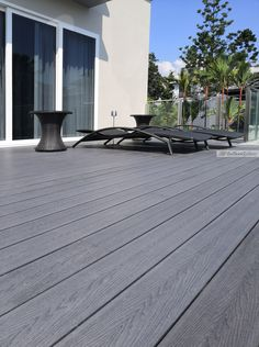 ClipOnDeck (Eco Fusion Deck) Archives - The Floor Gallery Outdoor Decking, Outdoor Decor, Hardwood Decking, Balcony Deck, Cosy, Flooring, Gallery, Courtyards, Roof Rack