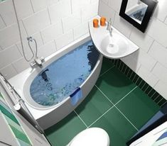 7 интересных идей дизайна маленькой ванной комнаты - Дизайн интерьеров   Идеи вашего дома   Lodgers