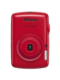 Nikon COOLPIX S01 10.1 MP Digital Camera with 3x Zoom NIKKOR Glass Lens (Red) - http://photography.diysupplies.org/digital-cameras/nikon-coolpix-s01-10-1-mp-digital-camera-with-3x-zoom-nikkor-glass-lens-red/