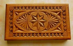 Antique Carved Cigar or Jewelry Box Imported from by piratetess, $85.00