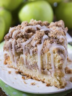 Are you ready for fall baking? Cinnamon Apple Crumb Cake is the perfect dessert for crisp weather coming up.You must try this coffee cake loaded with apples