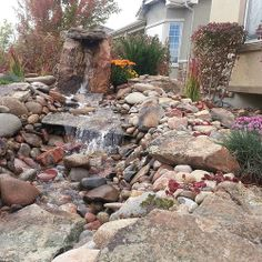 Water feature anyone?  This focal rock screams waterfall. www.earthscaped.com