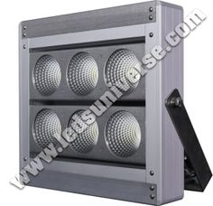 Flood light Focus+ 240W: Our Flood Light Focus+ has 40W chips installed, which helps creating a light structure, under a high-power context, with high efficiency. Lumen per watt is 130lm/W. http://www.ledsuniverse.com/flood-lights/focus-plus/
