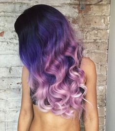 purple roots and silver hair - Google Search