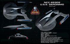 Akira class ortho - USS Geronimo by unusualsuspex on DeviantArt