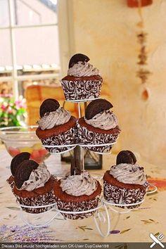 Oreo Cupcakes, ein leckeres Rezept aus der Kategorie Kuchen. Bewertungen: 305. Durchschnitt: Ø 4,5.