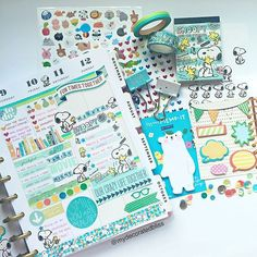 Second half of my week in my Happy Planner by MAMBI. I just love this planner.