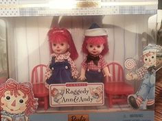 1999 Barbie Collectibles  Kelly  Tommy as Raggedy Ann  Andy ** You can get more details by clicking on the image.