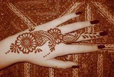 Mehndi Designs Simple And Easy for Hands Arabic to draw for kids flower for left hand mehndi images: Simple And Nice Mehndi Designs And Easy...