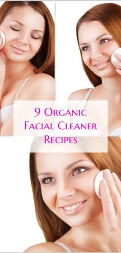 Creamy and oil-based cleansers are frequently used as an initial makeup cleanser because they do a better job of removing makeup than foaming, powdered, or clay-based products. Many people who wear foundation makeup or work in a greasy or dirty environment follow up with a second cleansing using the same product or a foaming cleanser, a mild soap (such as one made from fatty goat's milk), a.. #facialcleanerrecipes #organicskincare #diybeautyrecipes #organicfacialcleaner #organicbeautyrecipes Organic Facial, Organic Skin Care, Natural Skin Care, Homemade Skin Care, Homemade Beauty, Beauty Tips And Secrets, Neroli Essential Oil, Oil Based Cleanser, Unrefined Coconut Oil