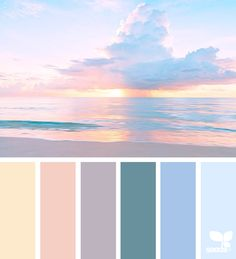 today's inspiration image for { heavenly hues } is by . thank you, Özge, for another gorgeous image share!Explore Design Seeds color palettes by collection.{ color reflect } image via: 060116 today's inspiration image for { color reflect } is by . Peach Color Palettes, Sunset Color Palette, Color Schemes Colour Palettes, Bedroom Colour Palette, Pastel Colour Palette, Sunset Colors, Colour Pallette, Hue Color, Bedroom Color Schemes