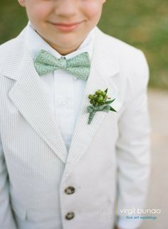 A preppy bow tie for the ring bearer | weddings | Ooh! Events