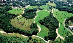 Parque Villa-Lobos in western São Paulo by Decio Tozzi