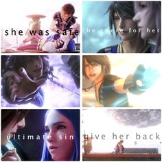 Noel x Serah, Noel x Lightning, Noel x Yeul. Personally I'm with the first ship >_< I made this edit a while ago