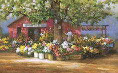 'Summer Market' by Paul Landry