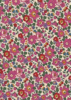 Liberty of London Betsy Fabric Scraps por CocoandWolf en Etsy Collage Background, Wall Collage, Cute Lockscreens, Cute Wallpaper Backgrounds, Pretty Art, Small Flowers, Textiles, Fabric Scraps, Pattern Wallpaper