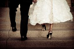 Bride and Groom Shoes by jerryfergusonphotography, via Flickr
