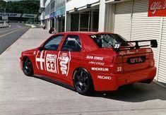 Alfa 155 GTA Ferrari, Lamborghini Huracan, Alfa Brera, Continental Cars, Alfa Romeo Gta, Classic Race Cars, Top Cars, Car Photos, Touring