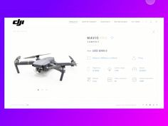Happy Friday folks!  Just finished my simple product page for Mavic Pro. Hope you like it guys. Let me know your feedback & criticize. I love comments, feedbacks, discussions.  Don't forget to ...