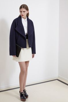 Carven Pre-Fall 2014 Collection Slideshow on Style.com