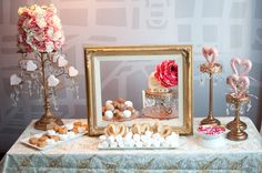 GSS Tuesday Trousseau Dessert Tables For WeddingsSweet November's Creative Dessert Table | Wedding Inspiration | Wedding Ideas
