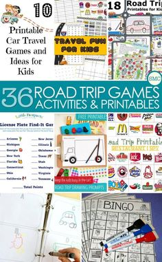 These road trip games are just what we need for the long journey we have planned later this year! #roadtripideasforkids