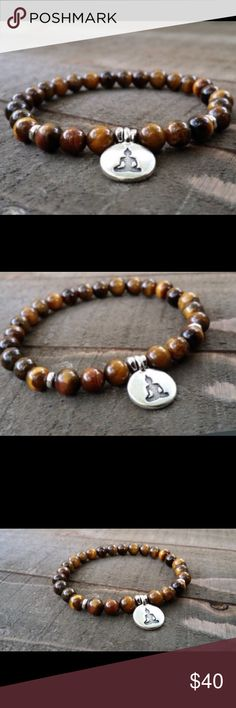 Tiger Eye Buddha Yoga Bracelet Gorgeous 🌻🌻BUNDLE 3 or More SAVE 20%!!! Spend 💲20 or more and choose a FREE GIFT❗️Choose your free gift by commenting on the item..... items with a 🎁 qualify as a free gift! Jewelry Bracelets