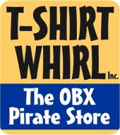 T-Shirt Whirl, Inc. – The OBX Pirate Store :: Shopping : Outer Banks of North Carolina - Let Sunny Day Guide help plan your next family vacation and fully experience the Outer Banks.