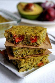 Torta de legumes vegana sem glúten, sem ovo, sem leite, sem soja de liquidificador