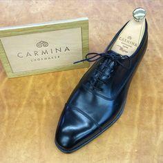 http://chicerman.com  carminashoemaker:  Carmina Shoemaker .Simpson last . Style 80091 in black calf. #Goodyearwelted #mallorca #menswear #mensshoes #mensfashion #Spain #shoefanatics  #menshoes