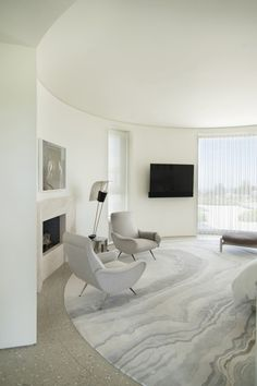 Trousdale Estates Contemporary Home in Beverly Hills California by Dennis…