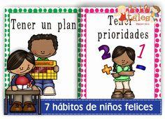 Los 7 hábitos de niños felices