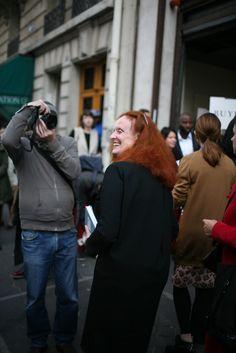 They Are Wearing: Paris Fashion Week - WWD.com. Love Gracel